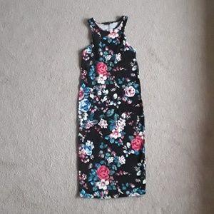 Beautiful express flower print dress size small